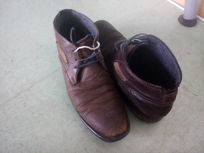 Schuhe Wildleder