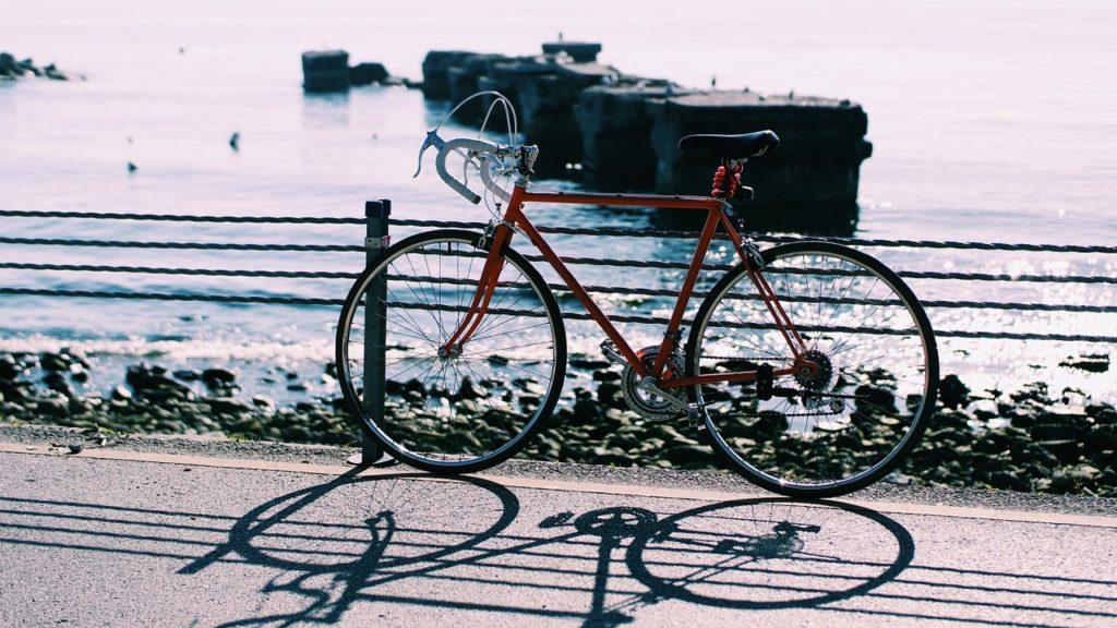 Fahrrad am Meer