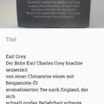 Google Notizen Bildtext