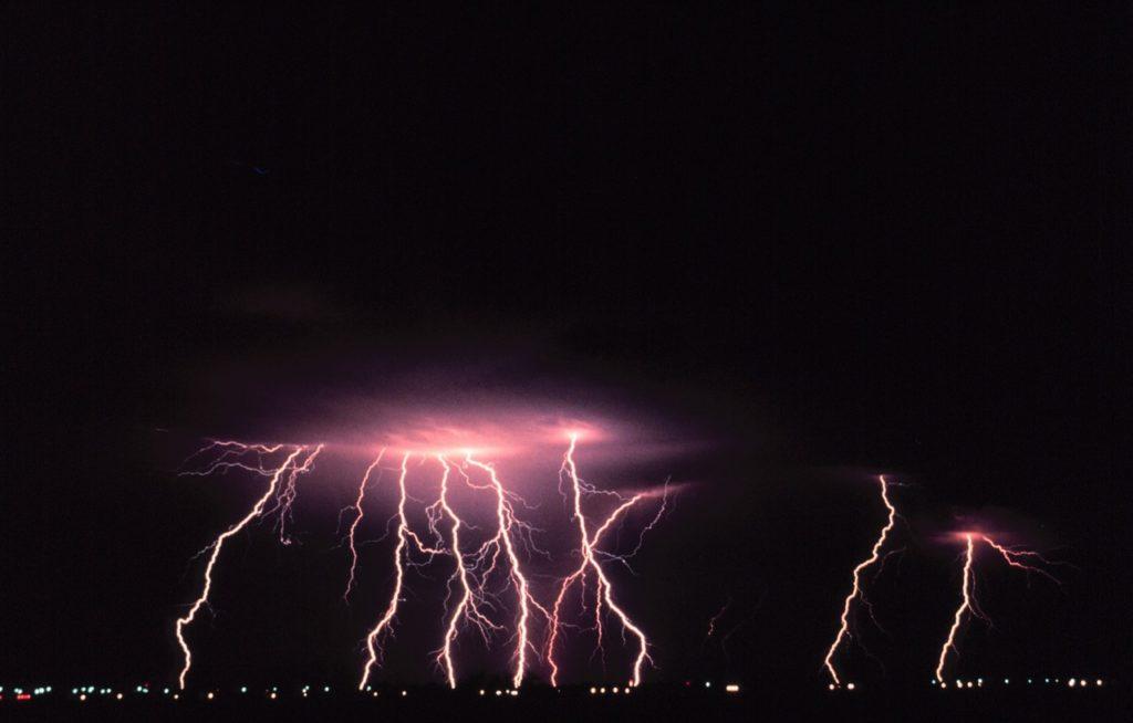 Blitz und Donner
